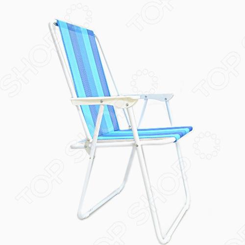 Стул складной Larsen Camp Prs3013Табуреты, стулья, столы<br>Larsen Camp Prs3013 - это складной стул, который обеспечит комфортный отдых на природе или на даче. Регулируемая спинка сидения позволит вам удобно расположиться в разных ситуациях. Стул оснащен устойчивыми ножками. Материал корпуса: сталь, текстиль.<br>