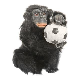 Купить Сувенир из меха «Обезьянка с футбольным мячиком»