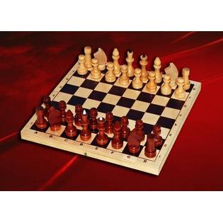Купить Шахматы лакированные с доской