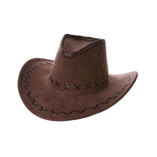 Купить Шляпа ковбойская Шампания велюровая. В ассортименте