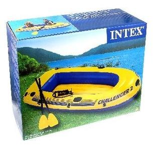 Купить Лодка надувная Intex «Челленджер-2» 68367