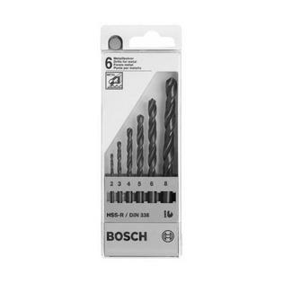 Купить Набор сверл по металлу Bosch HSS-G DIN 338 2-8 мм