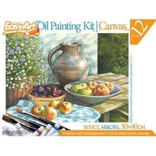 Купить Набор для живописи масляными красками EasyArt №2 «Кувшин с фруктами»