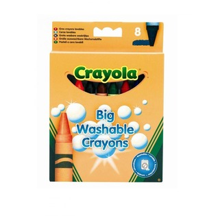 Купить Набор восковых мелков Crayola Big Washable Grayons