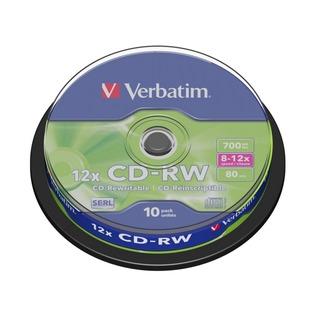 Купить Набор CD+RW дисков Verbatim 43480