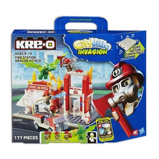 Купить Конструктор KRE-O Hasbro Пожарная станция A3248H
