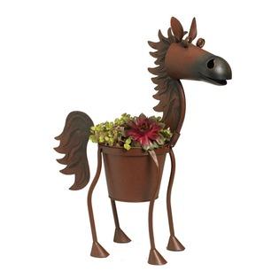 Купить Кашпо «Гнедой конь Файербол»