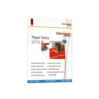 Купить Бумага водорастворимая Gutermann «Paper Solvy»