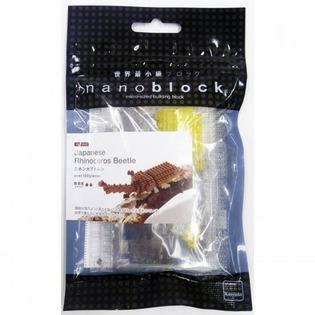 Купить Мини-конструктор Nanoblock «Жук-носорог»
