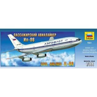 Купить Сборная модель Звезда Пассажирский авиалайнер «Ил-86»