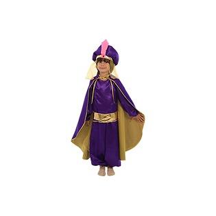 Купить Восточный принц фиолетовый, рост 116-122