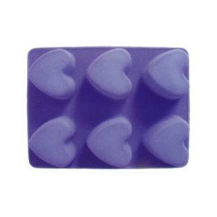 Купить Форма для выпечки Marmiton «Сердечки», 6 ячеек. В ассортименте