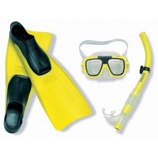 Купить Набор: маска с трубкой и ластами Intex 55957. В ассорртименте