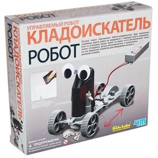 Купить Набор для изобретателей 4M Управляемый робот-кладоискатель