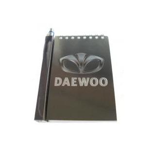 Купить Автомобильный блокнот с магнитом Daewoo
