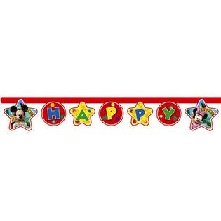 Купить Гирлянда детская Procos «Веселый Микки-Happy Birthday»