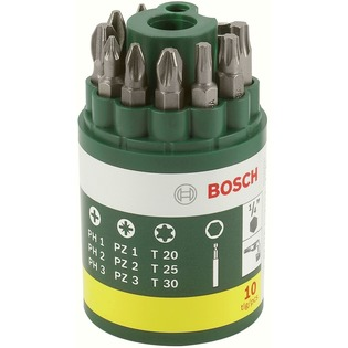 Купить Набор бит Bosch 2607019452 (PH, PZ, T)