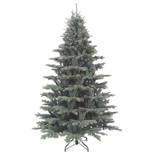 Купить Ель декоративная Triumph Tree «Шервуд Премиум». Цвет: голубой. Высота: 120 см. Количество веток: 615. Диаметр: 94 см. Уцененный товар