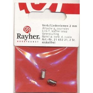 Купить Соединитель для кожаного шнура Rayher 21653