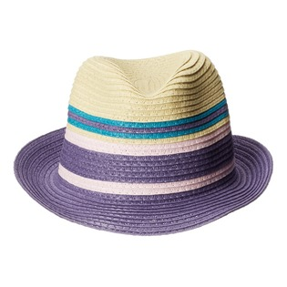 Купить Шляпа для девочки Appaman Audrey Fedora. Цвет: фиолетовый, бежевый