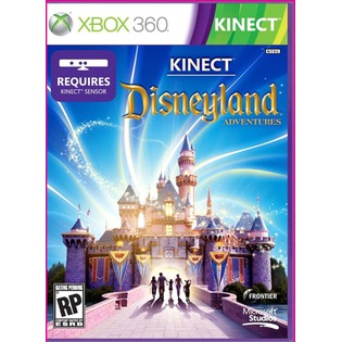 Купить Игра для Microsoft Kinect Disneyland Xbox 360 Russia PAL DVD