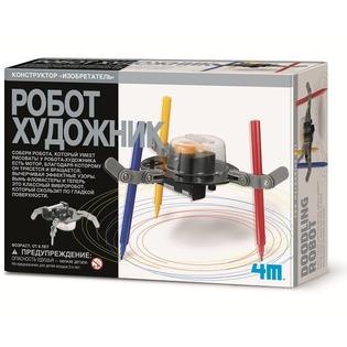 Купить Набор для изобретателей 4M «Робот художник»
