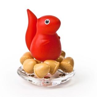 Купить Иголки канцелярские Qualy Squirrel