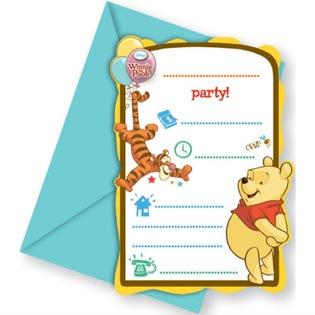Купить Приглашения в конвертах Procos «Винни-Пух и Пятачок»