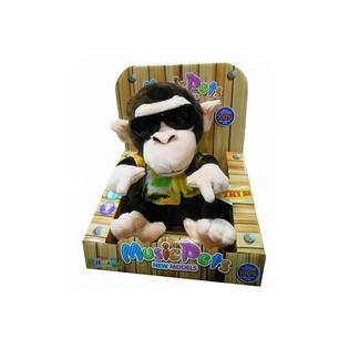 Купить Мягкая игрушка интерактивная «Диджей-обезьянка» CL1505A