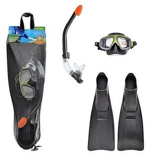Купить Набор: маска с трубкой и ластами Intex 55959