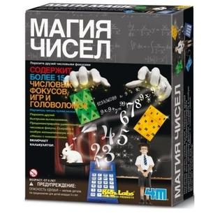 Купить Набор для изобретателей 4M «Магия чисел»