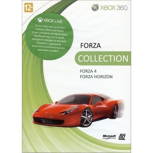Купить Бандл для Microsoft Xbox 360 Forza 4 и Forza Horizon (rus)