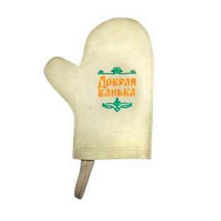 Купить Рукавица для сауны Банные штучки «Добрая банька!»