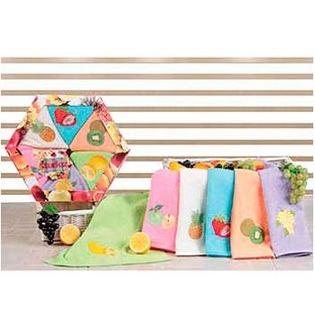 Купить Набор из 6-ти кухонных полотенец TURKIZ 2КТ-0005/6К