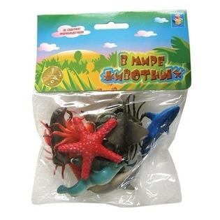 Купить Набор морских животных 1 TOY Т50513