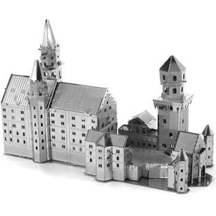 Купить Модель замка Нойшванштайн сборная Metalworks «Замок Нойшванштайн»