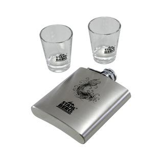 Купить Фляжка с двумя бокалами Stahlberg 8290-S