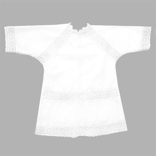 Купить Рубашка для крещения МАРГАРИТА с кружевом