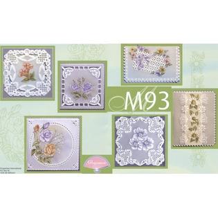 Купить Набор схем для парчмента Pergamano M93 Весенние цветы