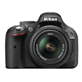 Купить Фотокамера цифровая Nikon D5200 (Kit Double 18-55 VR/55-300VR)