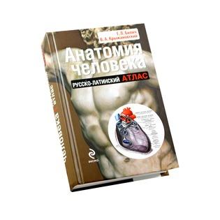 Купить Анатомия человека. Русско-латинский атлас