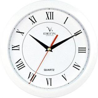 Купить Часы Вега П 1-7/7-47 «Белый кант - Римские» Классика