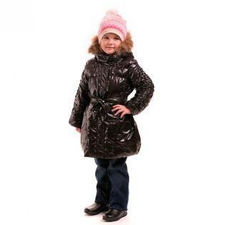 Купить Пальто детское для девочки Sp-Show ЯВ115052. Цвет: черный