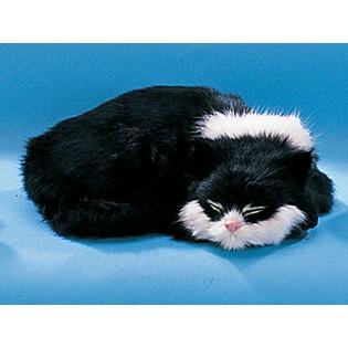 Купить Сувенир из меха «Кошка спящая»
