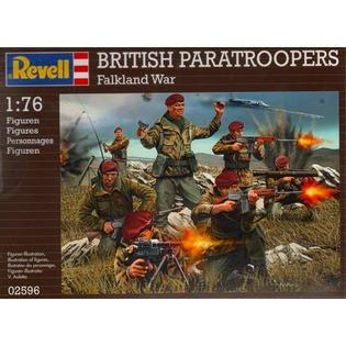 Купить Пластиковые модели Revell «Британские десантники»
