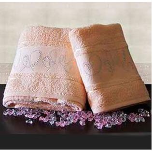 Купить Набор из 2-х полотенец для ванной TURKIZ 2КТ-0023/2