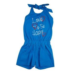 Купить Полукомбинезон для девочек Zeyland Happiness. Цвет: голубой