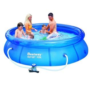 Купить Бассейн круглый надувной Bestway 57270 (57109)