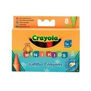 Купить Набор восковых мелков Crayola Jumbo Grayons: 8 цветов