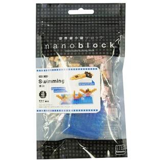 Купить Мини-конструктор Nanoblock «Плавание»